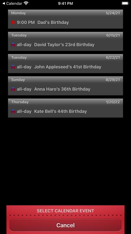 Countdown Me screenshot-3