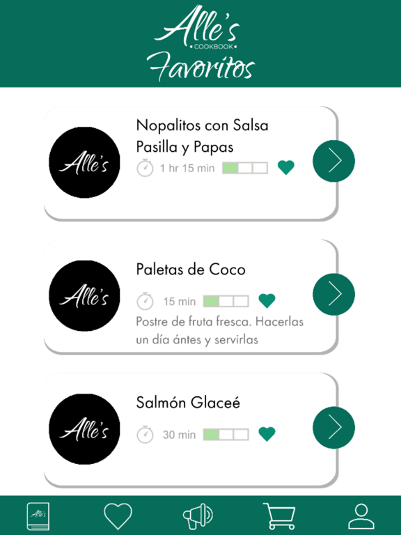 Recetario - Alle's Cookbook screenshot 14