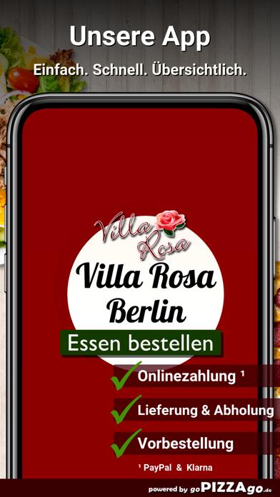 Pizzeria Villa Rosa Berlin screenshot 2