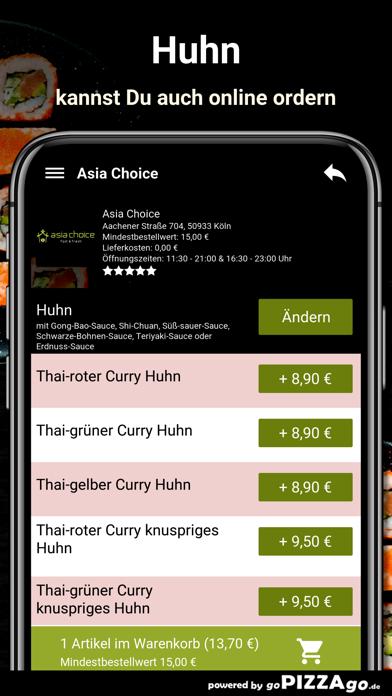 Asia Choice Köln screenshot 5
