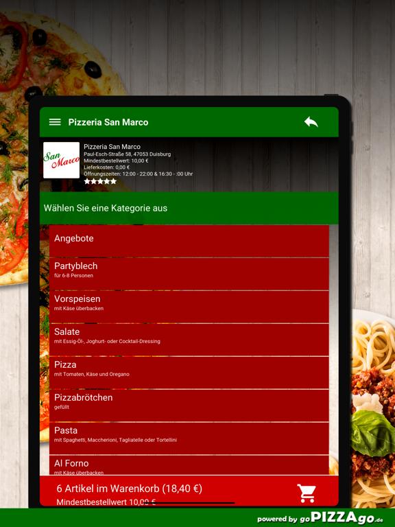 Pizzeria San Marco Duisburg screenshot 8