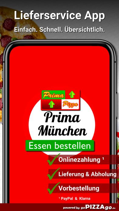 Prima Pizza München screenshot 1