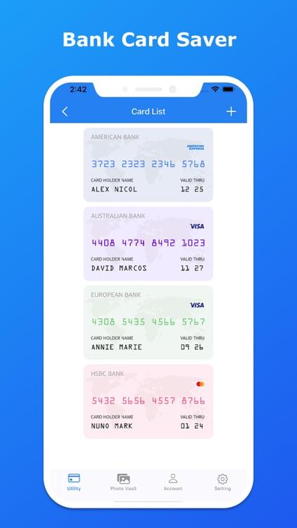 Password Manager - Photo Vault screenshot-5