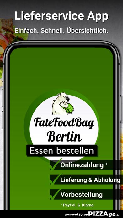 FateFoodBag Berlin screenshot 1