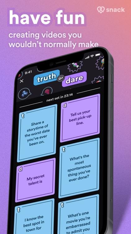 Snack - Video Dating screenshot-3