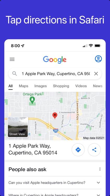 Mapper for Safari