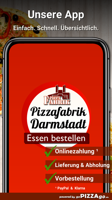 Pizzafabrik Darmstadt screenshot 1