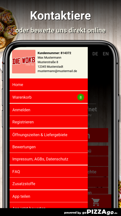 Die-Woks China-Thai München screenshot 3