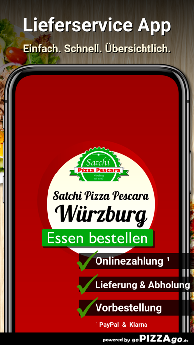 Satchi Pizza Pescara Würzburg screenshot 1