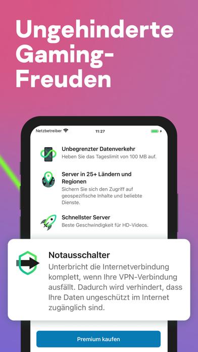 Secure VPN & Proxy - KasperskyScreenshot von 6