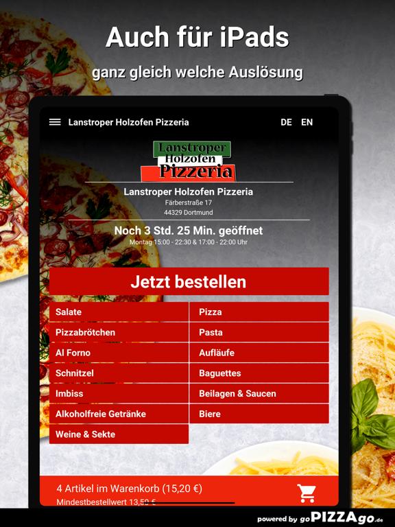 Lanstroper Pizza Dortmund screenshot 7