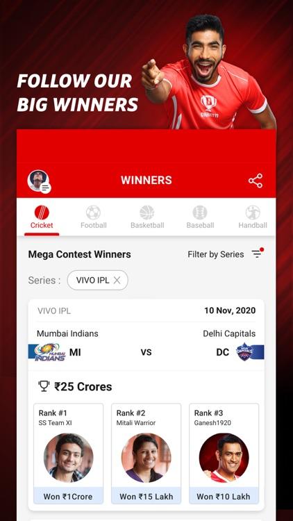 Dream11: Fantasy Cricket App screenshot-5