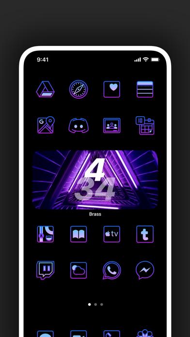 Brass - Eigene Icons & WidgetsScreenshot von 9