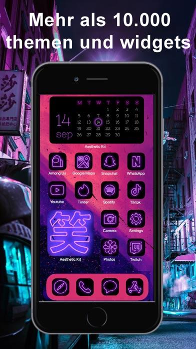 Aesthetic Kit,Icons und MotiveScreenshot von 6