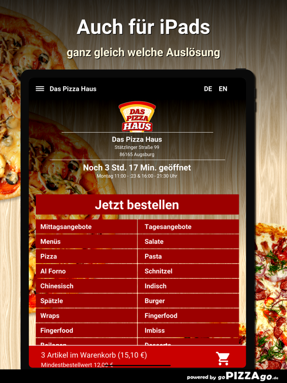 Das Pizza Haus Augsburg screenshot 7