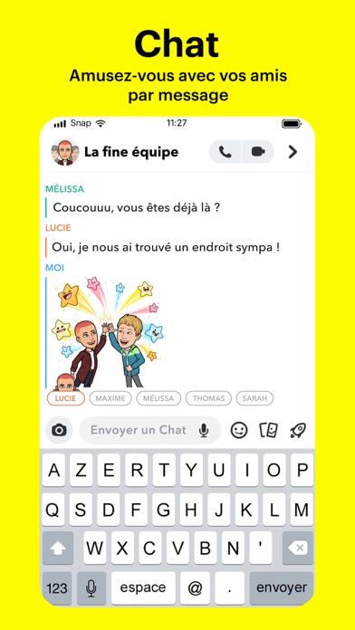 Screenshot #2 pour Snapchat