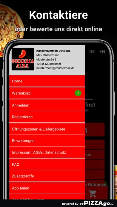 Pizza Alba Duisburg Neuenkamp screenshot 3