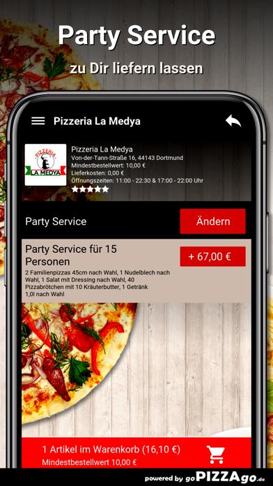 Pizzeria La Medya Dortmund screenshot 5