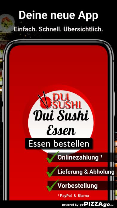 Dui Sushi Essen screenshot 1