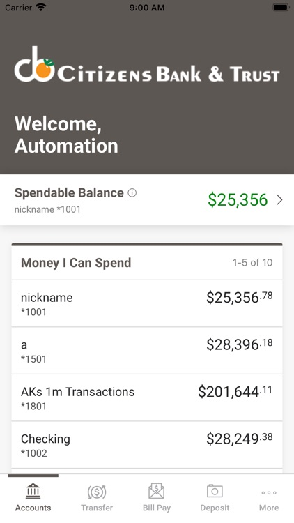 Citizens Bank & Trust App