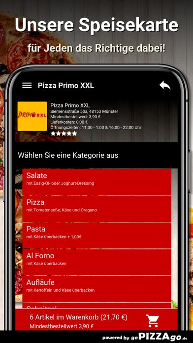 Pizza Primo XXL Münster screenshot 4