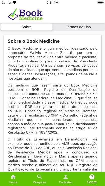 Book Medicine - Guia Médico screenshot-3
