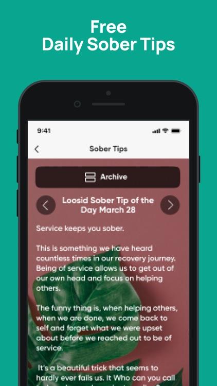 LOOSID: Sober Social Network screenshot-3