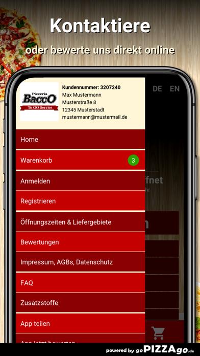 Pizzeria Bacco Idstein screenshot 3