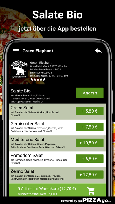Green Elephant München screenshot 5
