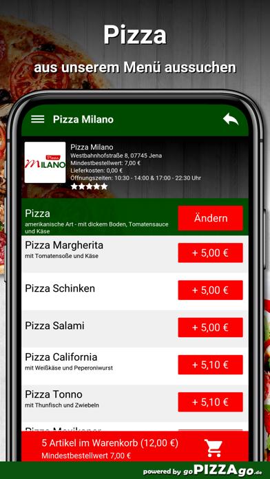 Pizza Milano Jena screenshot 5
