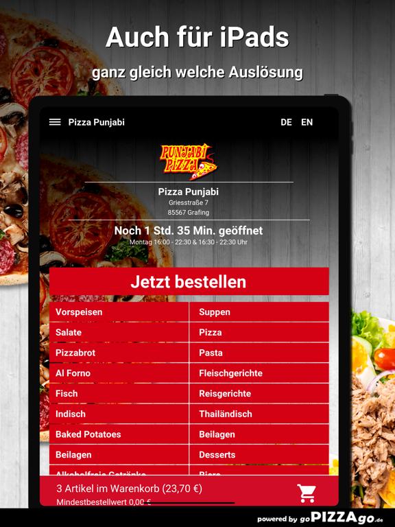 Pizza Punjabi Grafing screenshot 7
