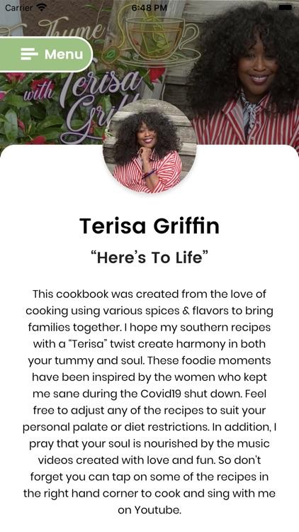 Tee Thyme Cookbook