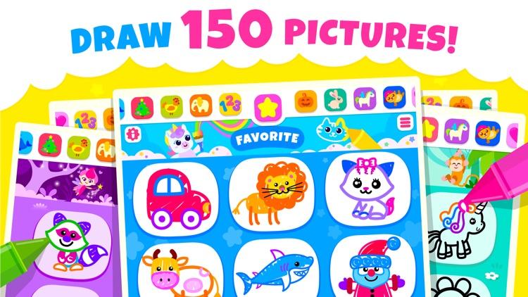 Drawing Games Learning Kids 2 screenshot-0
