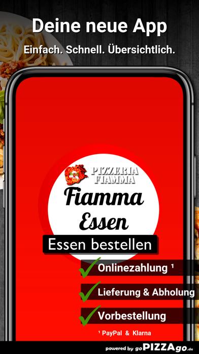 Pizzeria Fiamma Essen screenshot 1