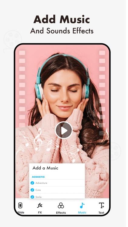 Photo Video Maker With Music screenshot-8