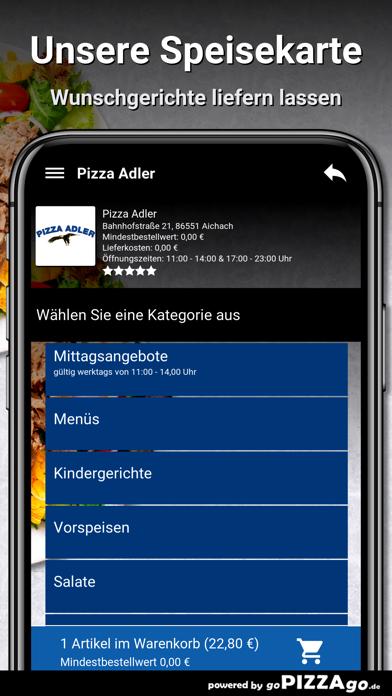 Pizza-Adler Aichach screenshot 4