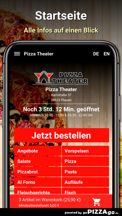 Pizza-Theater Plauen screenshot 4