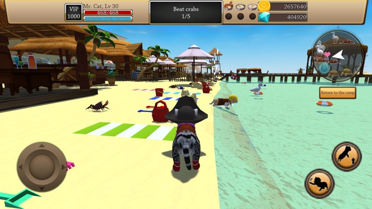 Cat Simulator 3D - Animal Life screenshot-5