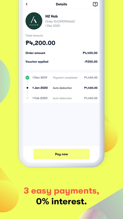 atome PH - Buy now. Pay later