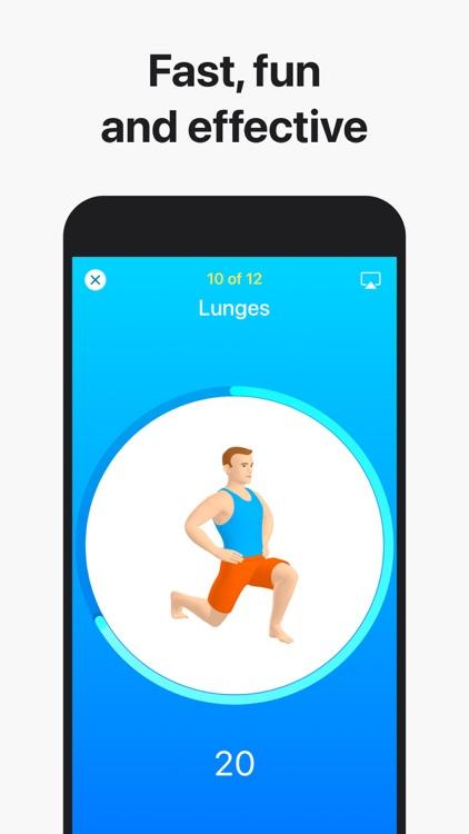 Seven: 7 Minute HIIT Workout screenshot-0