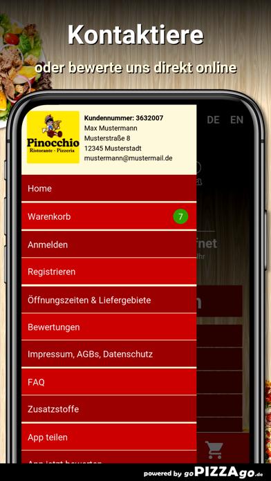 Pizzeria Pinocchio Halberstadt screenshot 3