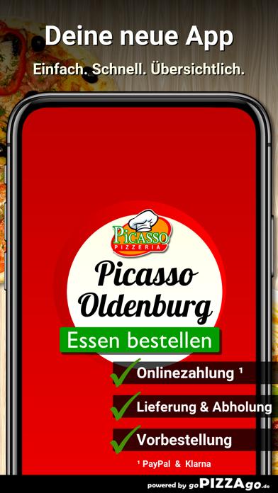 Pizzeria Picasso Oldenburg screenshot 1