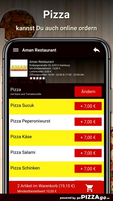 Aman Restaurant Hainburg screenshot 4