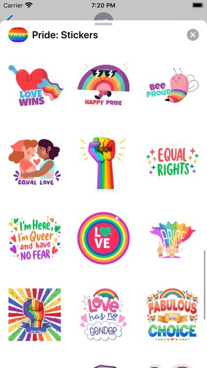 Pride: Stickers screenshot-7