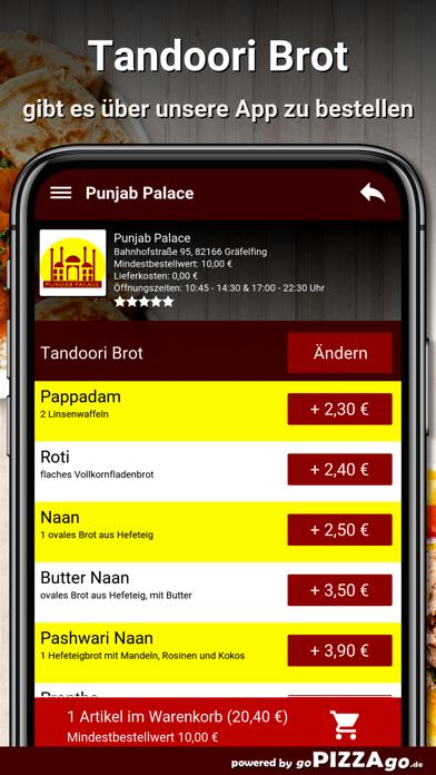 Punjab-Palace Gräfelfing screenshot 6