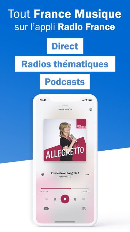 Radio France - radio, podcast screenshot-7