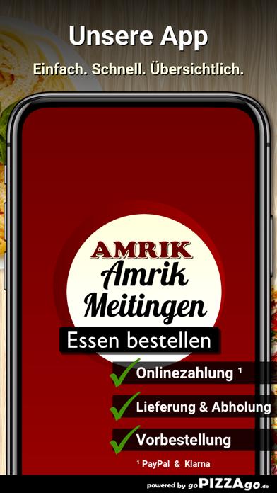 Amrik Pizzaservice Meitingen screenshot 1