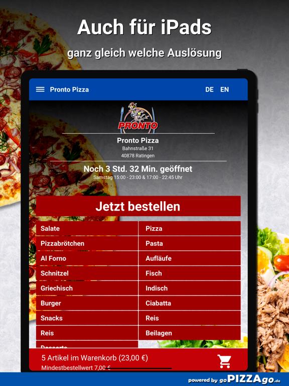 Pronto Pizza Ratingen screenshot 7