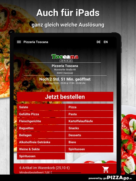 Pizzeria Toscana Hannover screenshot 7