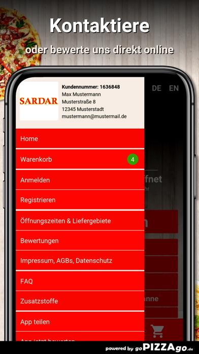 Sardar Lieferservice Waldkraib screenshot 3